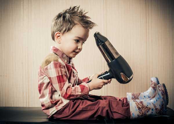 Tagli e hairstyle per bambini