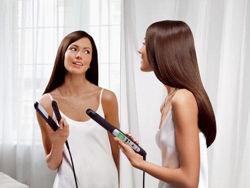 come si usa la piastra per capelli