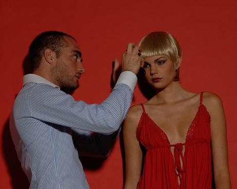 Edoardo shooting capelli